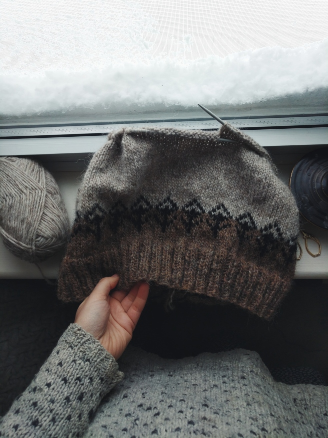 An afternoon of knit