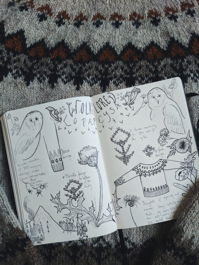 My Sketchbook :)