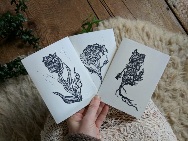Botanical Cards!