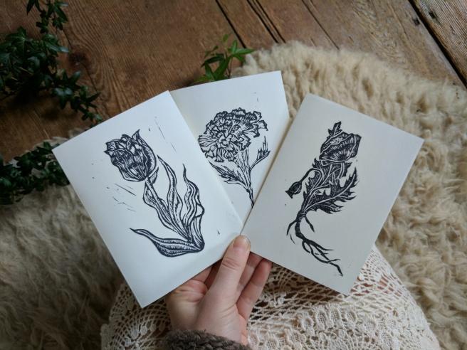 Botanical Cards!