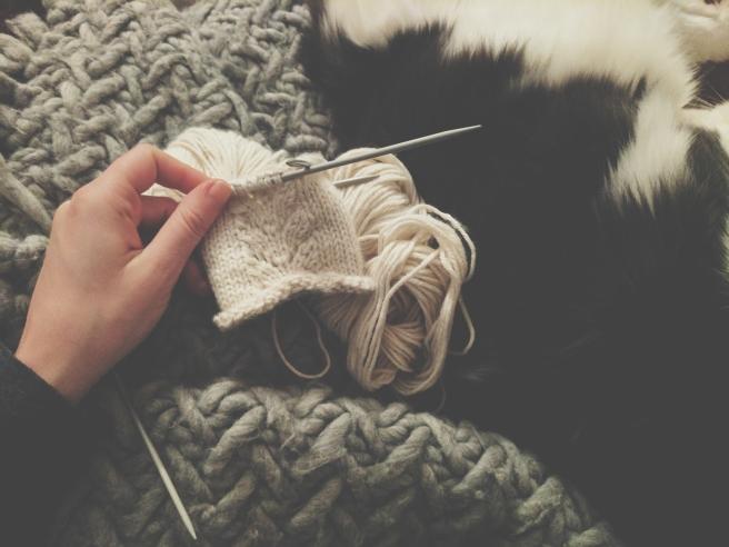DK knitting